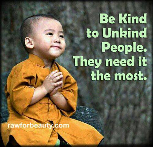 Why it's Important to Be Kind to Unkind People