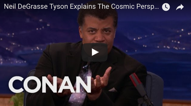 Neil DeGrasse Tyson Explains The Cosmic Perspective