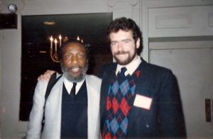 Dick Gregory and BetterListen and WisdomFeed founder Steve Stein