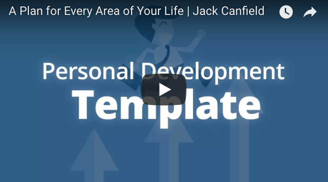 A Plan for Every Area of Your Life — Jack Canfield