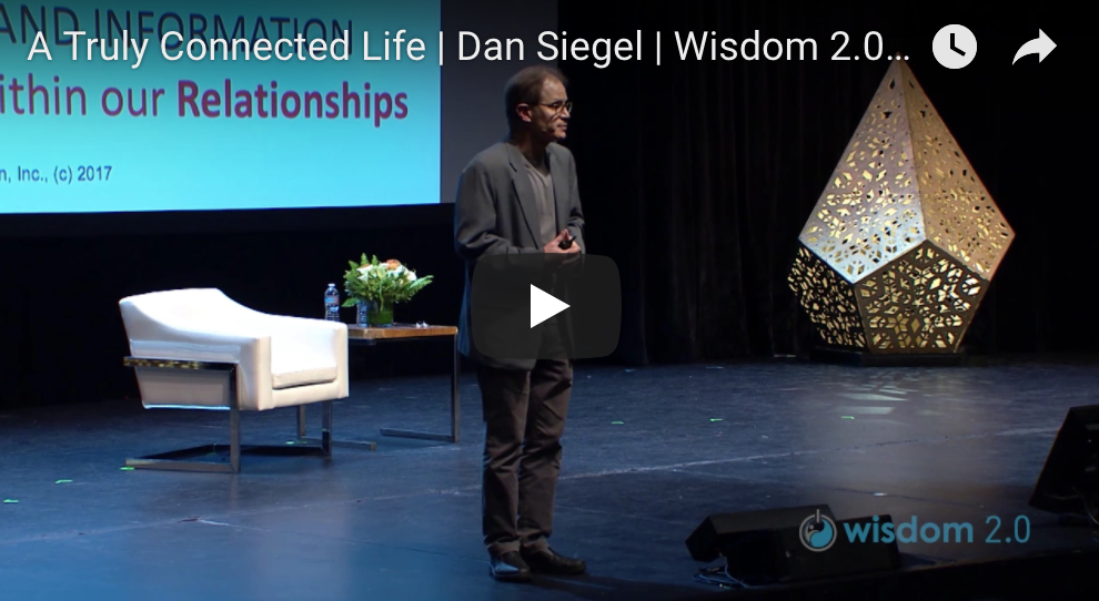A Truly Connected Life — Dan Siegel