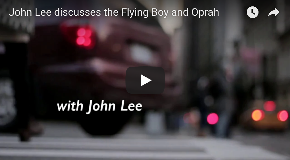 John Lee discusses the Flying Boy and Oprah