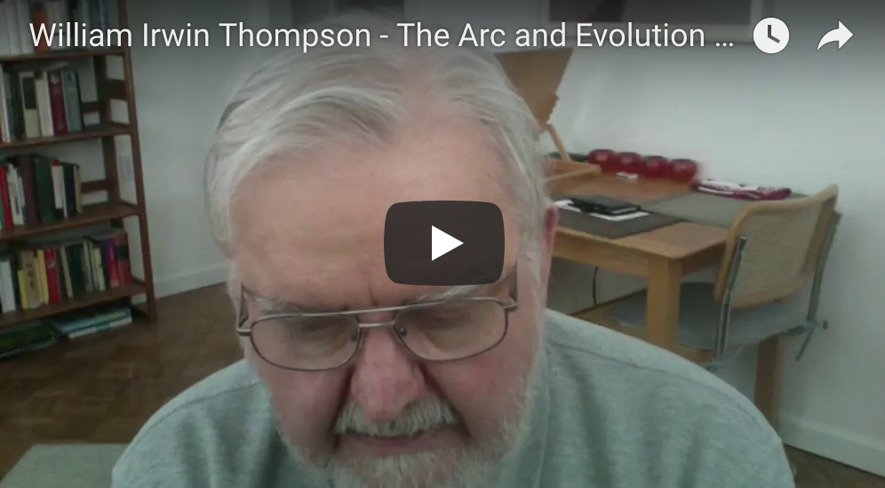 William Irwin Thompson – The Arc and Evolution of an Iconic Thinker's Career