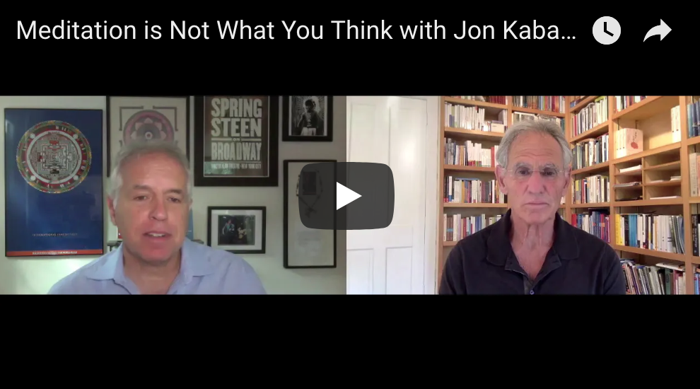 Meditation is Not What You Think with Jon Kabat-Zinn