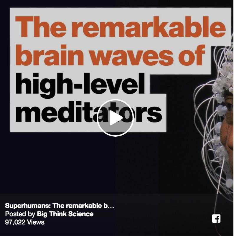 Superhumans: The remarkable brain waves of high-level meditators